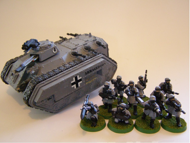 CoolMiniOrNot - Steel Legion Squad and Chimera by ...