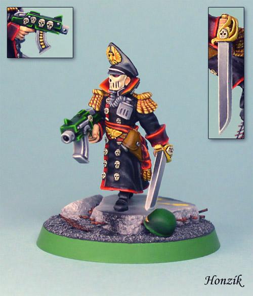 CoolMiniOrNot - Steel Legion Commissar by Honzík