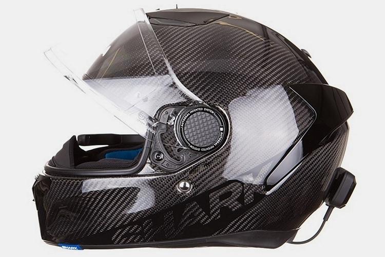Motorcycle Camera View Rear Helmet