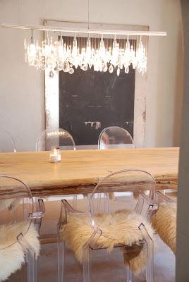 linear strand crystal chandelier z gallerie # 91