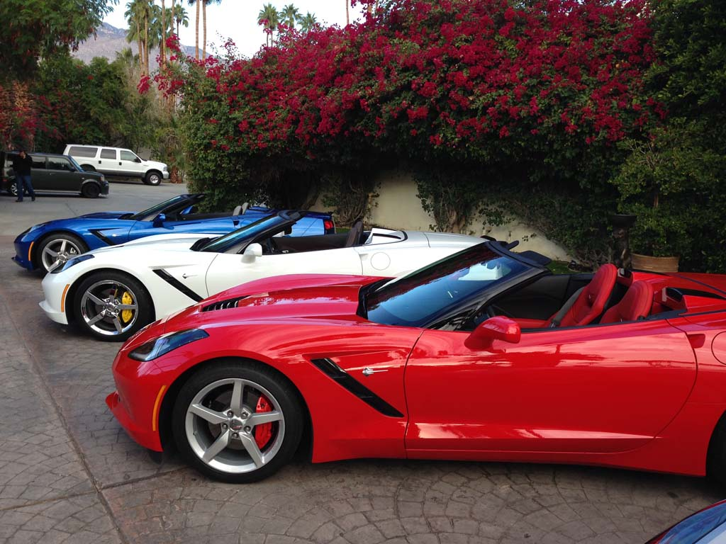 2014 Stingray Corvette Z51 Red