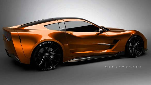 Gallery Is The World Ready For A Brown C8 Mid Engine