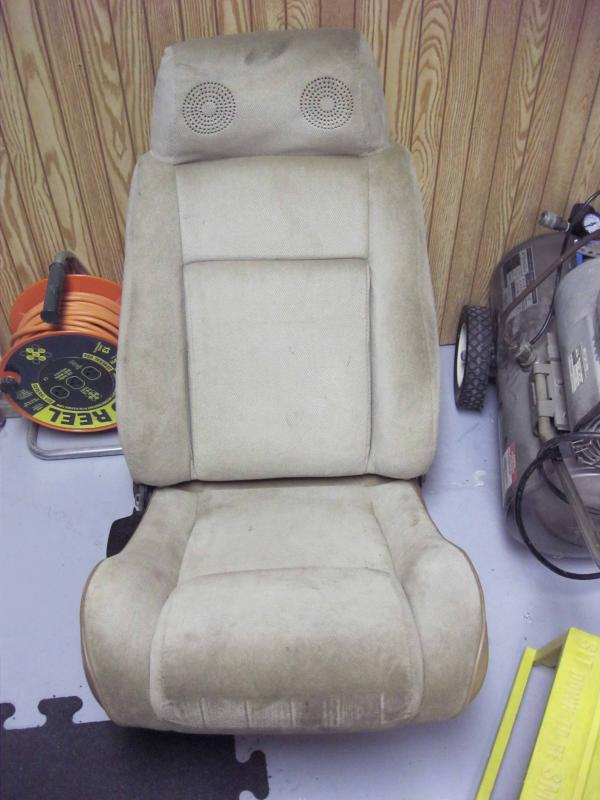 F S Fiero Seat With Headrest Speakers Corvetteforum