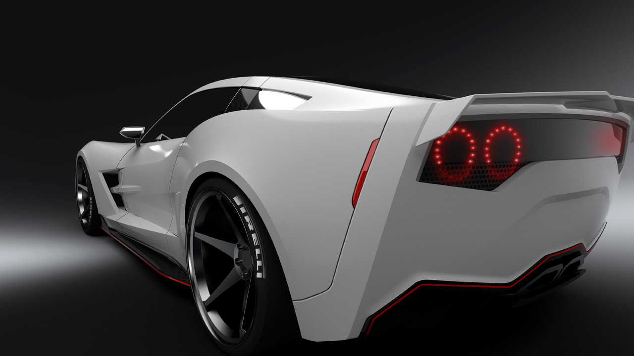 Supervettes Offers The C6 Corvette Some Visual Viagra