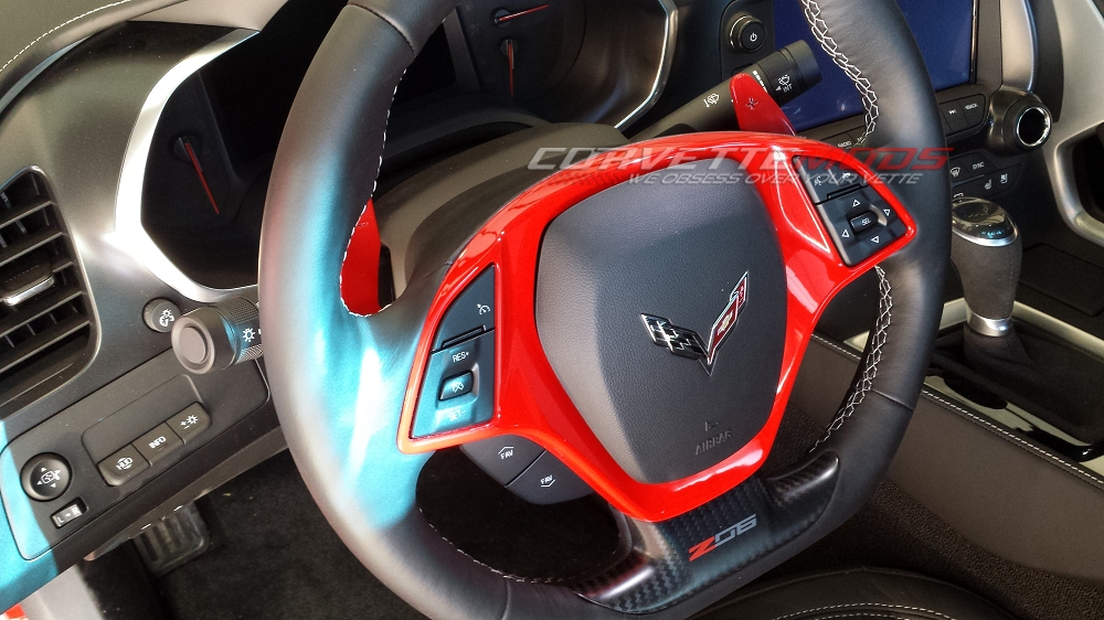 Torch Corvette Bezel Red