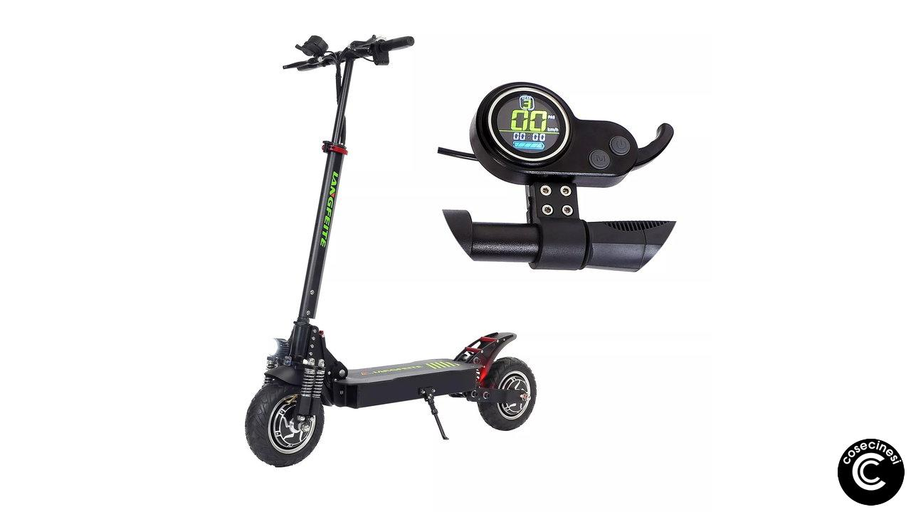 Coupon LANGFEITE L8S Folding Electric Scooter [15Ah]