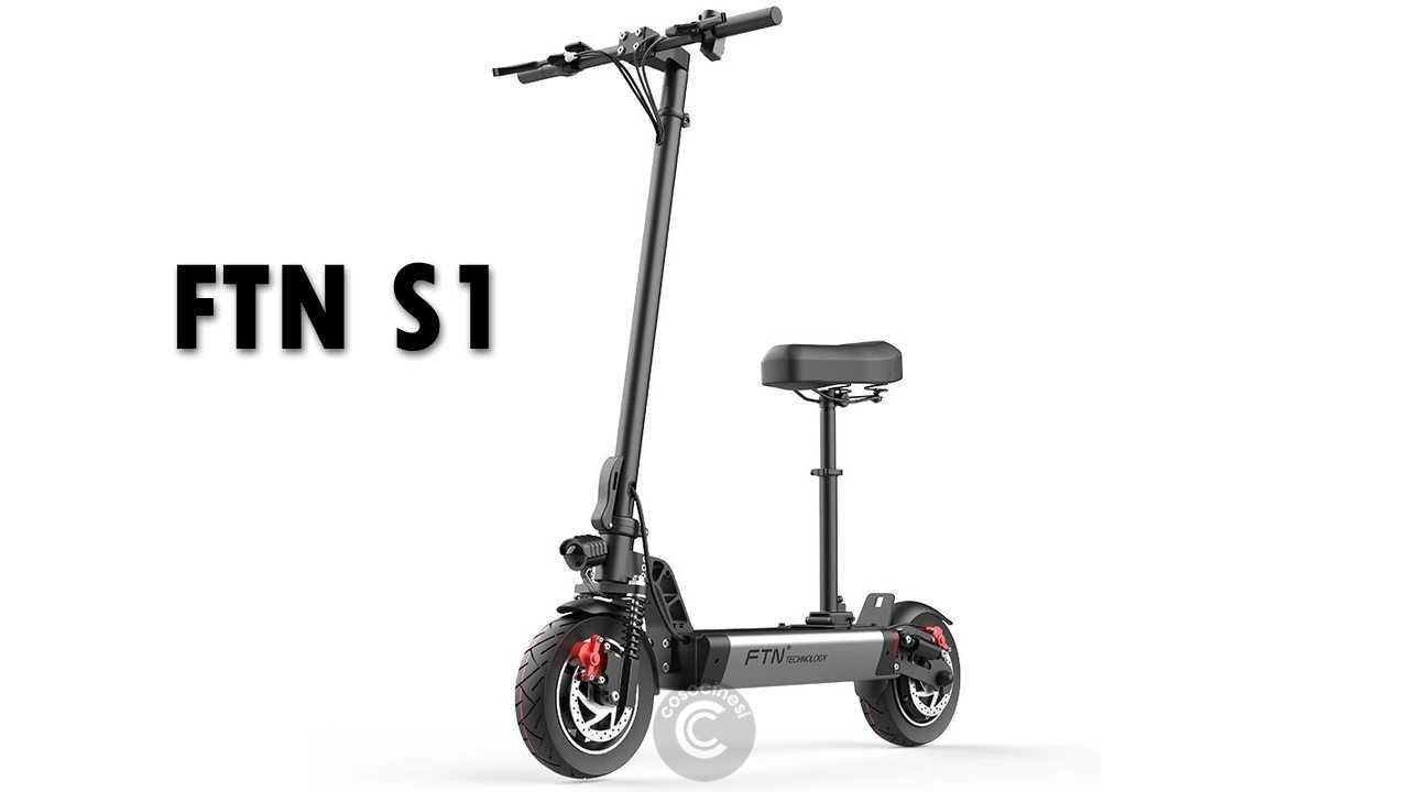 Codice sconto coupon  FTN S1 Folding Electric Scooter [12AH]