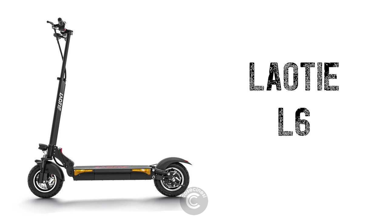 Codice sconto coupon LAOTIE L6 Folding Electric Scooter