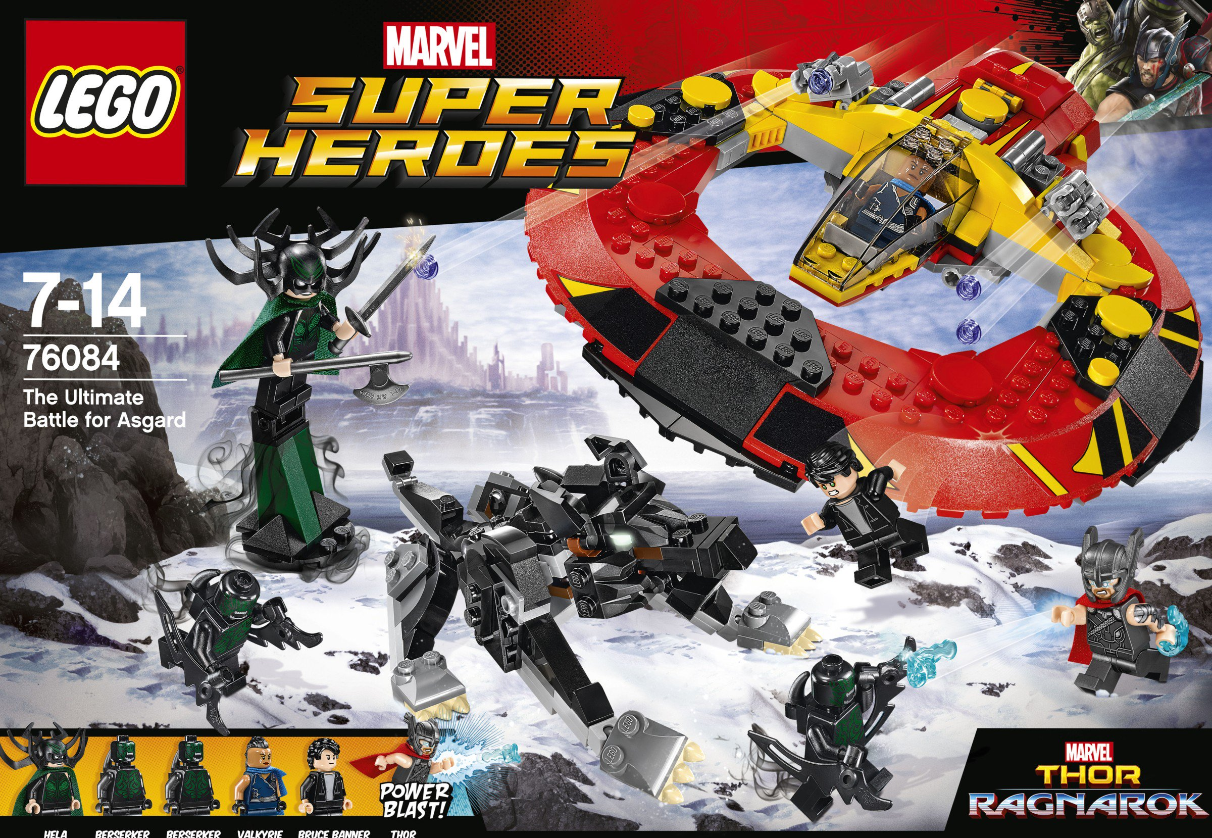 Thor  Ragnarok LEGO Sets Revealed   Cosmic Book News Thor  Raganarok has a November 3  2017 release directed by Taika Waititi  starring Chris Hemsworth as Thor  Mark Ruffalo as Hulk Banner  Tom  Hiddleston as