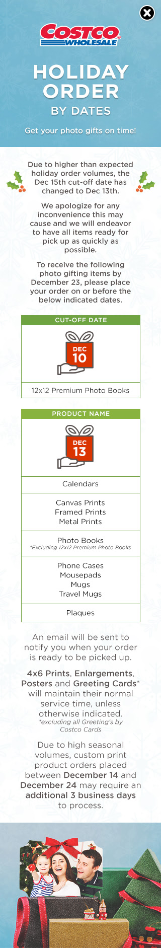 Costco personalized christmas cards m4hsunfo