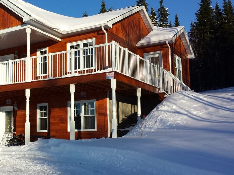 """Cottage for rent """"The Merlin"""" in Val-Racine, Eastern ..."""