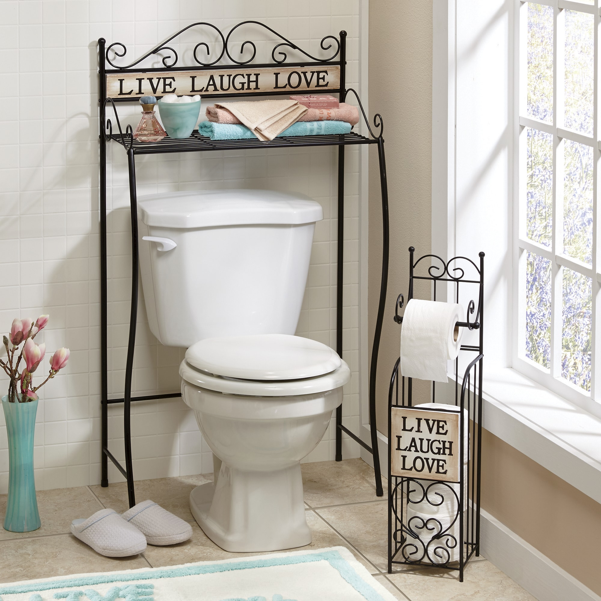 Bathroom Storage Space Savers Over The Toilet Cabinets