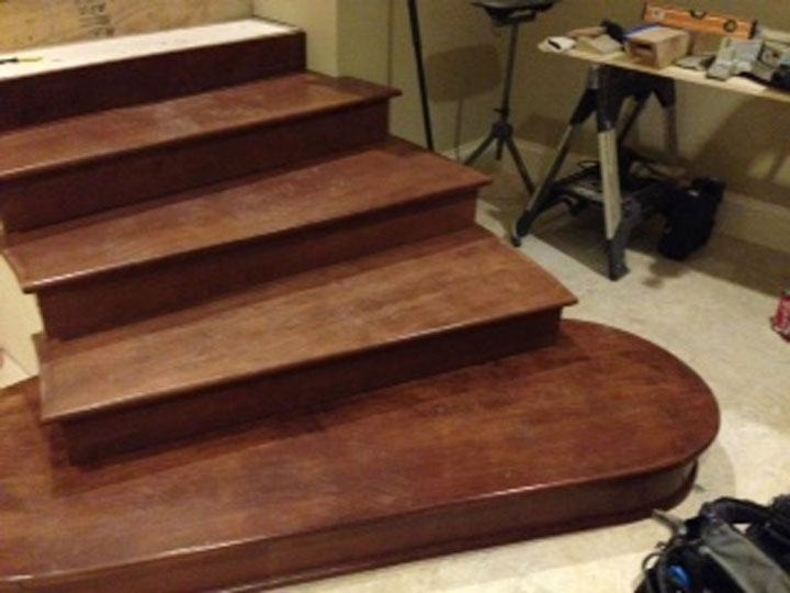 Photo Gallery Butcher Block Countertops Stair Parts   Hard Maple Stair Treads
