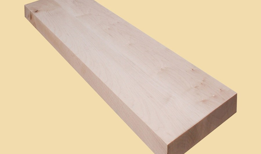 Hard Maple Extra Thick Stair Tread Prefinished Quote   Hard Maple Stair Treads
