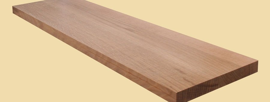 Quartersawn White Oak Wide Plank Countertops Country Mouldings   Unfinished White Oak Stair Treads   Wood Stair   Hardwood Flooring   Red Oak   Flooring   Risers