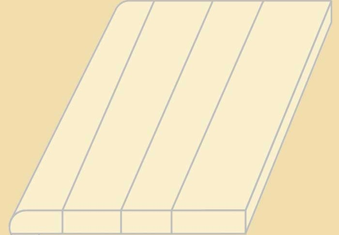 Custom Size White Oak Replacement Stair Tread Prefinished | White Oak Stair Treads Near Me | Hardwood Flooring | Quarter Sawn | Lowes | Wood | Staircase Railings