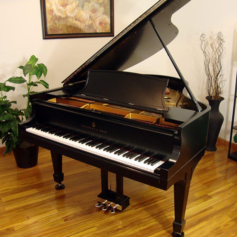 1916 Steinway Traditional Ebony O Piano Restoration