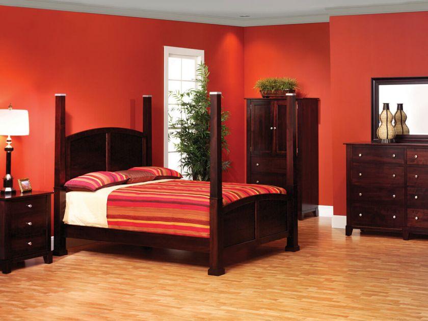 Darien Modern Bedroom Set Countryside Amish Furniture