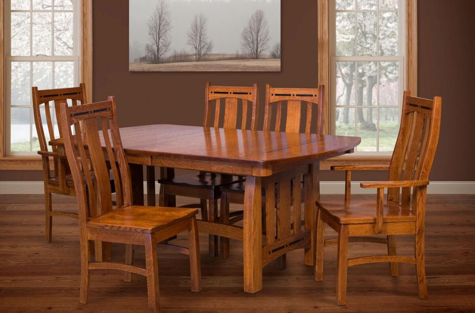 Hot Springs Craftsman Dining Set Countryside Amish Furniture