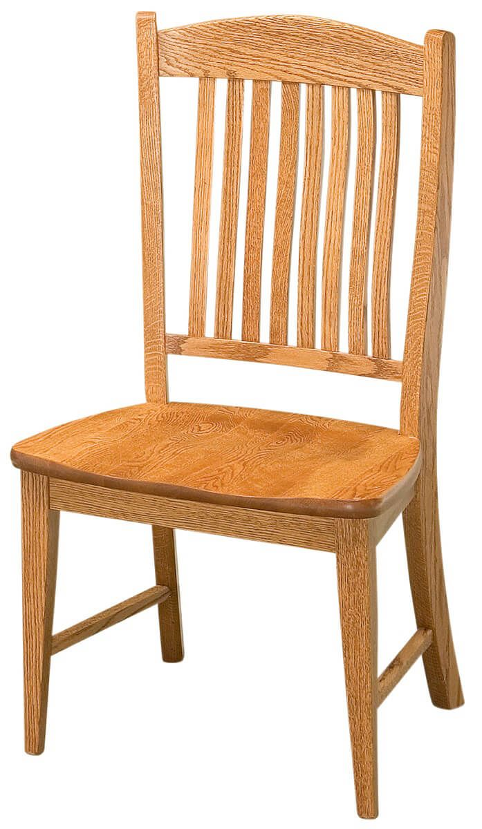 Amish Oak Dining Chairs