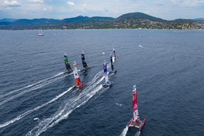 SailGP.  The French waited in St-Tropez