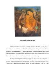 MADONNA OF THE SLUM.docx - MADONNA OF THE SLUM(1950 ...
