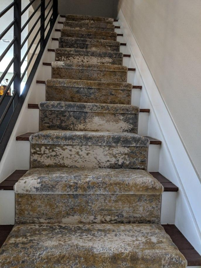 Custom Stair Runners Beautify Your Home – Coventry Flooring | Decorative Carpet For Stairs | Rectangular Cord Treads | Gingham | Brown | Animal Print | Stair Runner Matching Landing