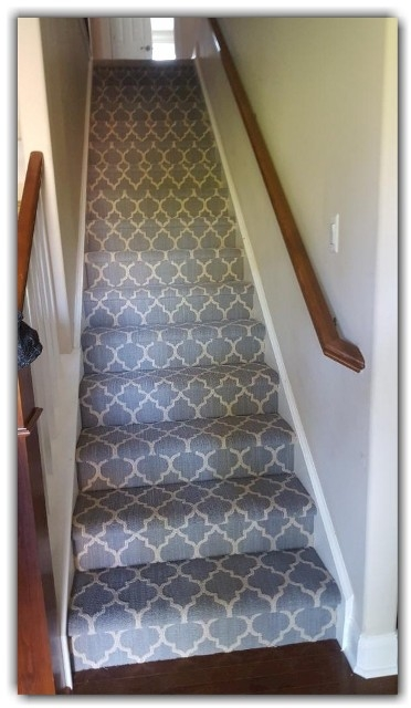 Pattern Carpet – Coventry Flooring | Grey Patterned Carpet Stairs | Unusual | Living Room | Grey Mottled | Carpet Wrapped | Geometric