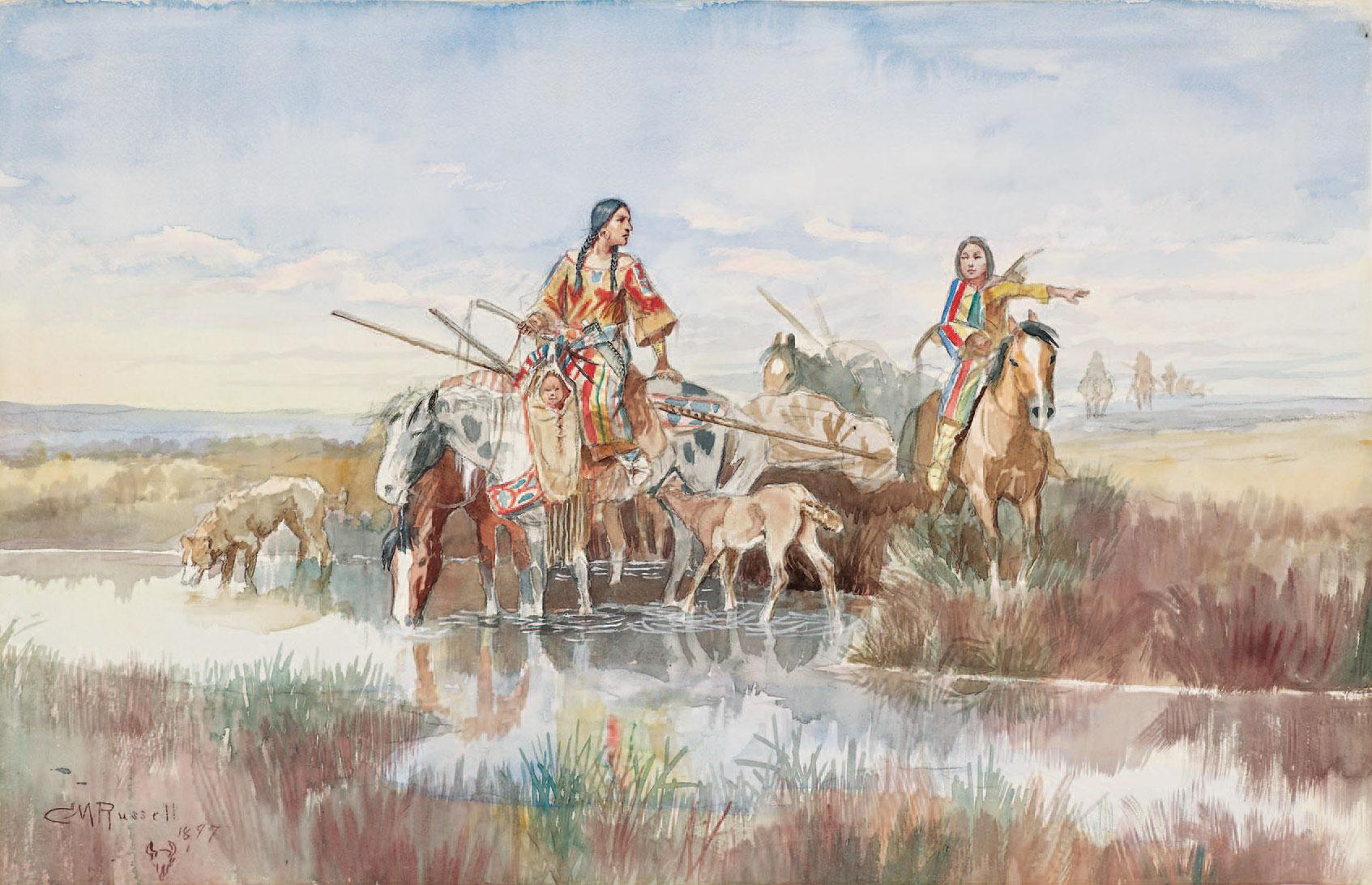 C Artist Russell Prints
