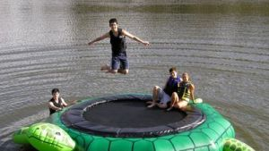 Water Trampolines And Bouncers CozyDays