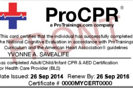 online cpr and aed certification » Free Resume Sample | Resume Sample