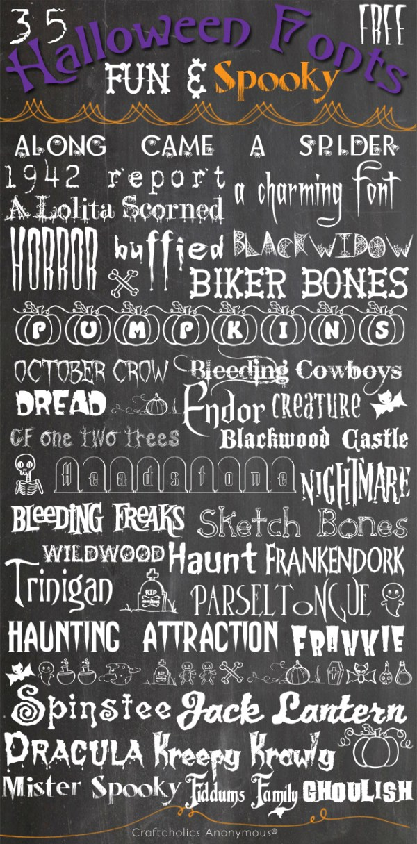 free halloween fonts # 19