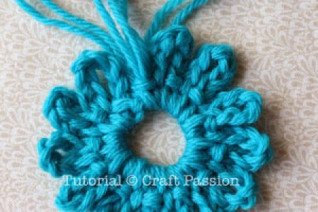 Crochet Flowers Step By Step Instructions Beautiful Flowers 2019