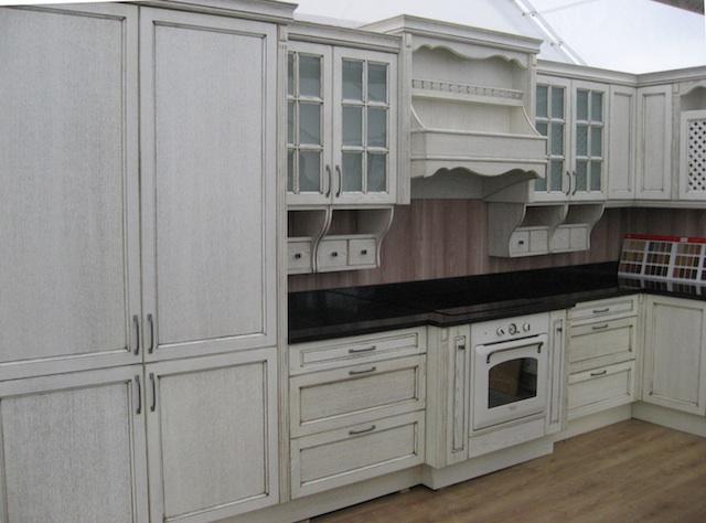 L Shaped Kitchen Wall Units