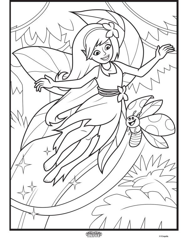 crayola color alive coloring pages # 3