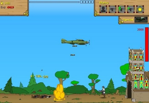 Play to Age of War free   Flash games   Crazy Stuff Flash games   Age of War