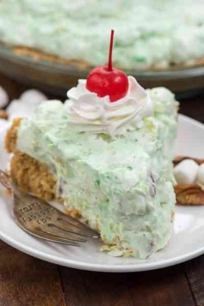 Watergate Salad Pie - Crazy for Crust