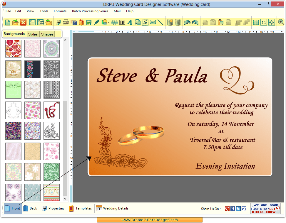 Card And Invitation Maker
