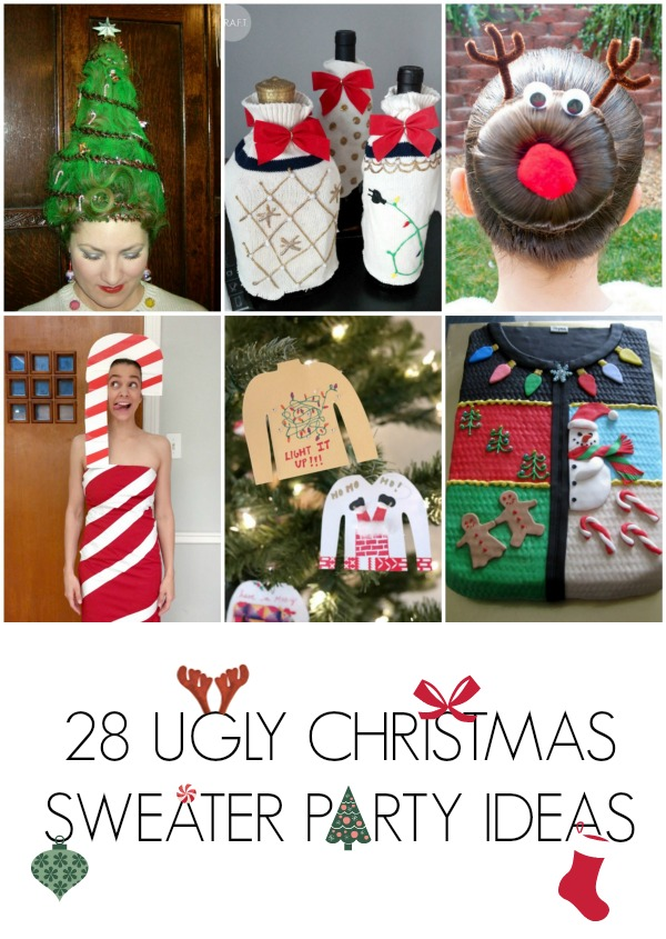 Funny Christmas Sweaters Diy