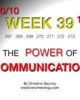 WEEK 39 – The Power Of Communication