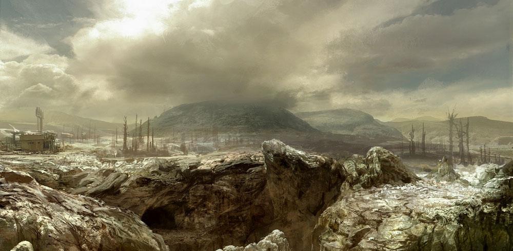 Wasteland Matt Painting Art Fallout 3 Art Gallery