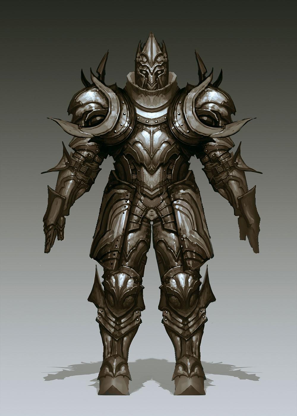 Crusader Armor Art Diablo Iii Art Gallery