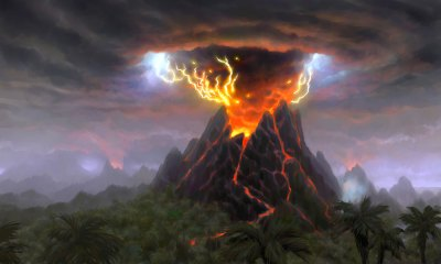 Volcano - Characters & Art - World of Warcraft: Cataclysm