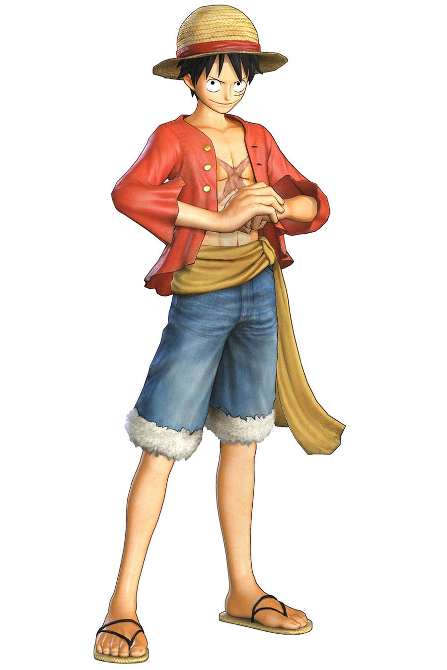 Monkey D Luffy Art One Piece Pirate Warriors 2 Art Gallery