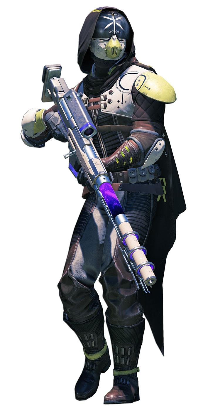 Hunter Render Destiny 2 Art Gallery