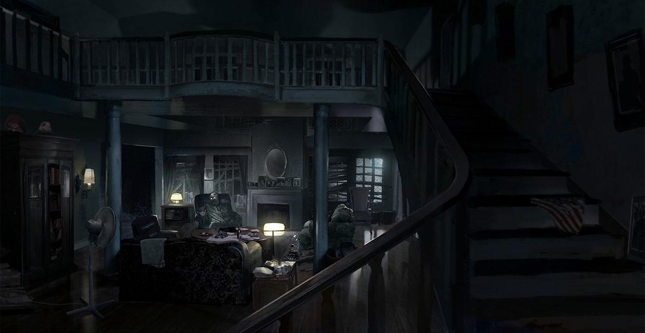 Living Room Art Resident Evil 7 Biohazard Art Gallery