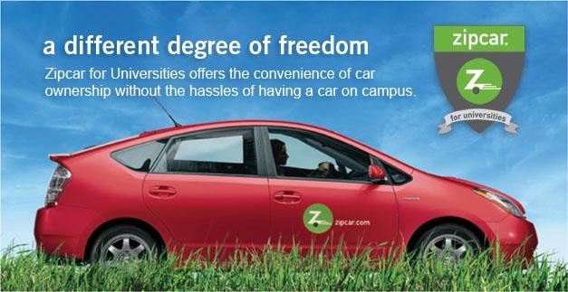 Zipcar Car Sharing Program Creighton Students Union Creighton University