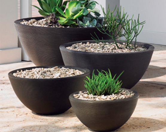 Tall Lightweight Planters