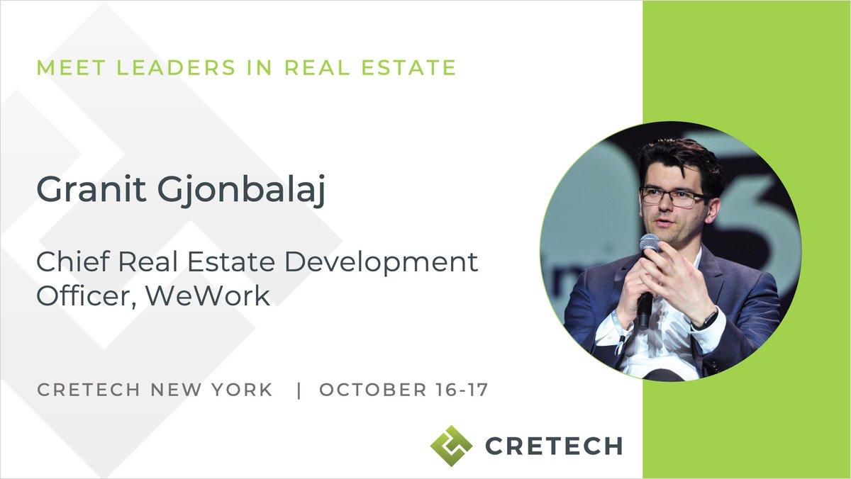 Speaker Spotlight: Granit Gjonbalaj, Chief Real Estate ...