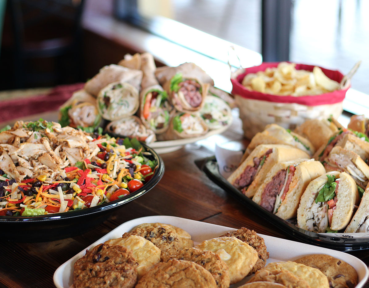Catering Ideas Large Groups